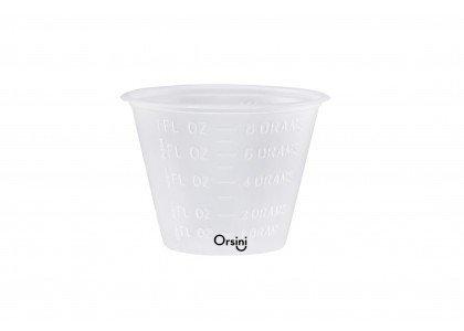 Orsini Graduated Plastic Medicine Cups, 1 oz (29.6 mL) (Pack of 100)