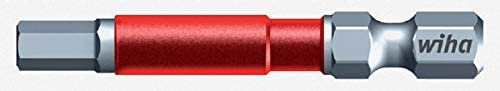 1/8 Hex Impact grade rated Power Driver Bit - 1/4 inch hex Quick Change shaft shank - german engineered