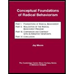 Conceptual Foundations of Radical Behaviorism, Moore, John C., 1597380113