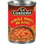 La Whole Pinto Beans 19.75 OZ (Pack of 24) by La Costena