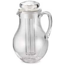 Tablecraft Polycarbonate Center Ice Core Pitcher, 3/4 Gallon -- 4 per case. (Ice Core Center Pitcher)