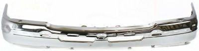 Evan-Fischer EVA17372019690 Bumper Front Steel Chrome