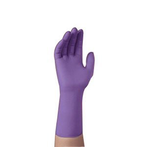 Safeskin Non-Sterile Powder-Free Purple Nitrile-XTRA Exam Glove X-Large (Case of 500) by Halyard Health