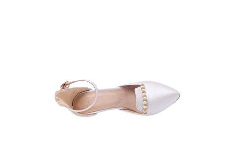 1to9 Damer Pärla Dans-balsal Mjuk Material Pumpar-shoes Vitt