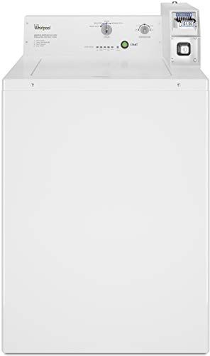 Whirlpool 27″ White Commercial Top-Load Washer – CAE2745FQ