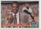 1993 Barry Bonds (Barry Bonds; Willie Mays #/150,000 (Baseball Card) 1993 Topps Stadium Club Ultra-Pro - Box Topper [Base] #8 )