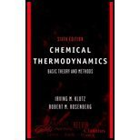 Chemical Thermodynamics, Klotz, 0471127345