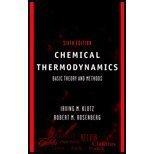 Chemical Thermodynamics, Klotz, 0471127345