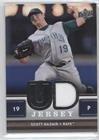 Scott Kazmir (Baseball Card) 2008 Upper Deck - UD Game Jersey Series 2 #UDJ-SK