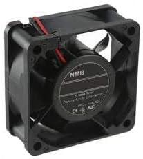 Rib 24VDC Tachometer 3-Wire 60x25mm NMB TECHNOLOGIES 06025SA-24N-AT-00 DC Fans DC Axial Fan 23.3CFM