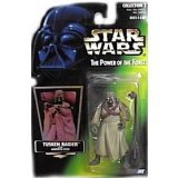 (US) Star Wars Power of the Force Green Hologram Card Tusken Raider Action Figure