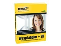 Barcode Design Software (Wasp 633808105266 WaspLabeler +2D Barcode Label Design Software)