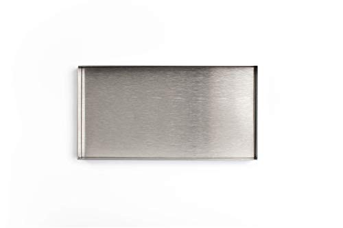 Calvin Klein Home George Tray Steel