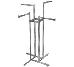 Manne-King 4-Way w/ Straight Arms - Rectangular Tubing - Straight Arms Rectangular Tubing