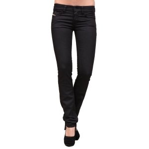 Diesel Livy 64U Women's Black Stretch Jeans (29 x 32)