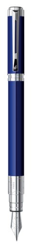 Waterman Perspective Blue, Fountain Pen with Fine nib and Blue ink (S0830940) by Waterman