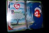 Peanut the Royal Blue Elephant Ty Tennie Beanie Baby by Ty Tennie Beanie Baby ()