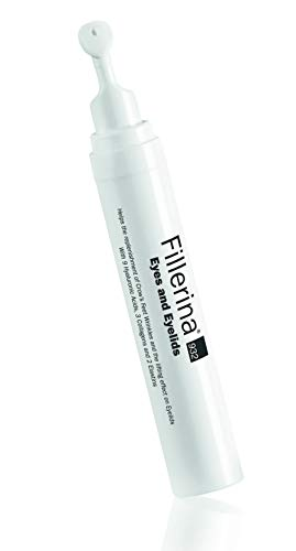 Fillerina 932 Eyes and Eyelids - Eye Treatment That Fills In Under Eye Hollowness, Smooths Crows Feet, and Tightens Eyelids – Hyaluronic Acid and Collagen Eye Treatment (Grade 5) by Fillerina (Image #5)