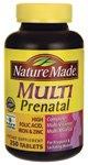 Nature Made Prenatal Multi Vitamin Value Size, Tablets, 250 Count