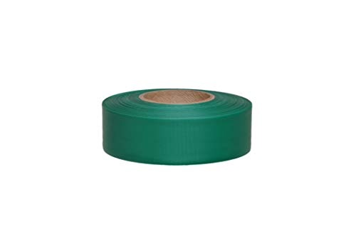 1 3/16 in X 300 FT Taffeta Safety Roll Flagging Green