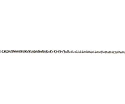 18ct Or blanc Trace 19,1cm/19cm Bracelet