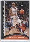 Chauncey Billups #27/50 (Basketball Card) 2009-10 Topps - Championship Material - Patch (Cbi Patch)