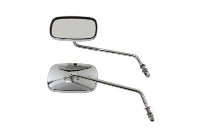 One Piece Diecast Chrome Mirrors - 1