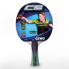 GEWO CS Energy Power Pre-Assembled Table Tennis Racket (Best Pre Assembled Table Tennis Racket)