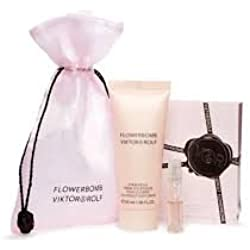 Flowerbomb Viktor Rolf Mini Spray and Body Lotion