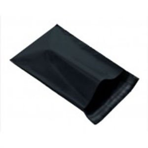 Mailingbagsrus Black 12x16'' Mailing Postage Postal Mail Bags 1000 Pack