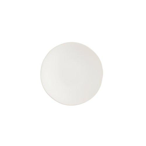 innerware Heirloom Matte Finish Bread & Butter Plate 6.25-Inch, Linen, Set of 4 ()