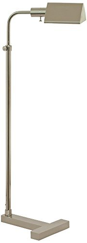 House of Troy F100-PN Fairfax Pharmacy Adjustable Floor Lamp, Polished Nickel by House of Troy