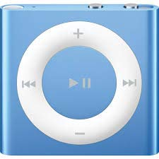 M-Player iPod Shuffle 2GB Blue (Packaged in White Box with Generic Accessories)