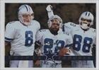 Troy Aikman; Emmitt Smith; Michael Irvin (Football Card) 1996 Pinnacle Zenith - [Base] #Z-147