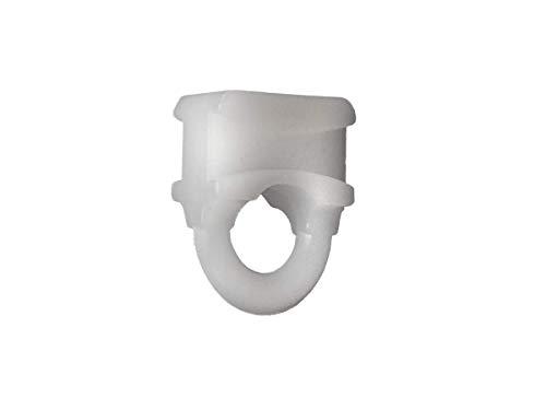 RV Designer A103 Drape Carrier - Small Sliding Eye #3, Pack of 14