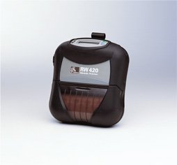 Zebra RW 420 Direct Thermal Printer - Monochrome - Portable - Receipt Print R4D-0U0A010N-00