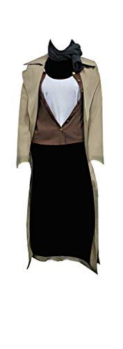 Mtxc Women's Resident Evil: Extinction Cosplay Costume Alice Full Set Size XX-Large Brown