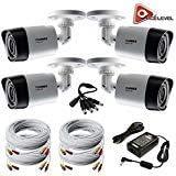 Lorex HD 1080p Weatherproof Night Vision Security Camera - 4 Pack