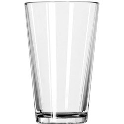 Libbey 308191 12 Ounce Heat Treated Beverage Mixing Glass (08-1081) Category: Mixing (Heat Treated Beverage Mixing Glass)