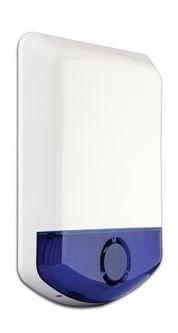 DIGITAL SECURITY CONTROLS DSC WT4911B 2 WAY WIRELESS OUTDOOR SIREN WITH BLUE STROBE
