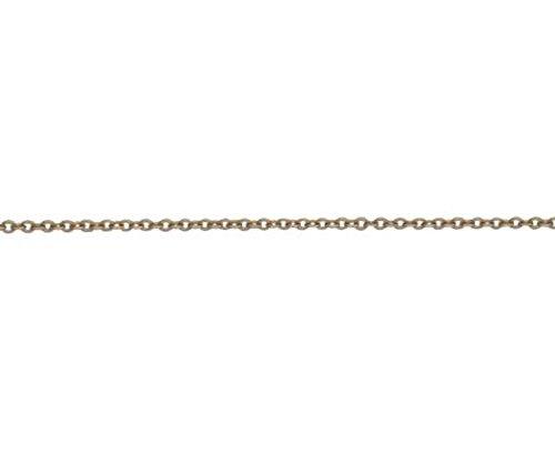 18ct Or Rouge/rose Trace 19,1cm/19cm Bracelet