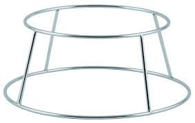 - Winco SFR-4, 4-Inch High Aluminum Display Seafood Tray Rack Holder