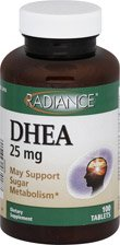 CVS Pharmacy DHEA 25 mg 100 comprimés