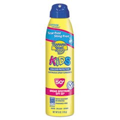 PLA04661 Kids Tear-Free Sting-Free Continuous Lotion Spray Sunscreen, 6 oz Can