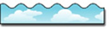 * BORDER CLOUDS SCALLOPED ()