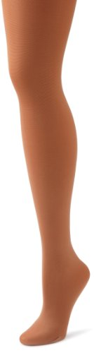 Danskin Women's Footed Tight,Toast,3X