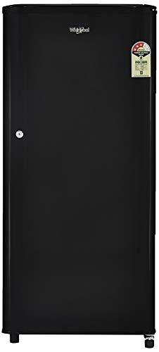 Whirlpool 190 L 3 Star Direct-Cool One-Door Refrigerators (WDE 205 CLS 3S, Black)