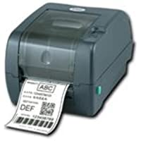 TSC 99-125A013-00LF Series TTP-247 Desktop Thermal Transfer Bar Code Printer, 203 dpi Resolution, 7 ips, 8 MB DRAM, 4 MB Flash, USB/Serial/Parallel Port, Black