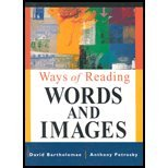 Ways of Reading, David Bartholomae and Anthony R. Petrosky, 0312403801