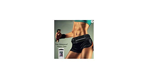 WATER PROOF RUNNING BELT FITNESS WAIST POUCH FANNY PACK FOR IPHONE, ANDROID PHONE WALLET FREE WATERPROOF PHONE CASE -ADJUSTABLE BELT- Running, Hiking, Jogging, Cycling, Traveling Gym Fitness